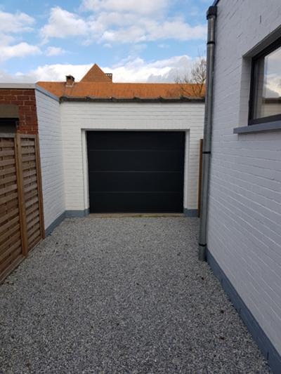garagepoort harelbeke plaatsing