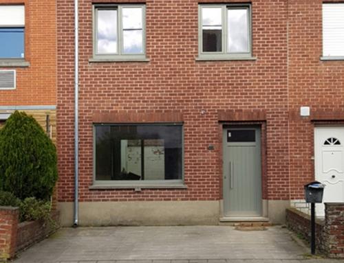 Rijwoning in Harelbeke – PVC ramen en deuren